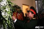Đại tướng Ngô Xuân Lịch viếng Chủ tịch Cuba Fidel Castro