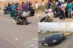 Hình ảnh siêu xe Lamborghini độc nhất Việt Nam trước lúc tông chết người