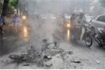 Cư dân mạng mổ xẻ nguyên nhân vụ nổ xe Honda Dream