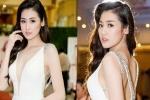 Á hậu Dương Tú Anh tái xuất xinh đẹp sau tai nạn rách cằm