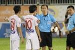 Ban trọng tài: 'Trọng tài Trần Xuân Nguyện không sai ở 3 tình huống'