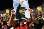 Hàng chục ngàn người tham gia lễ tưởng niệm lãnh tụ Fidel Castro tại Havana