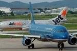 Tỷ lệ bay chậm chuyến: Jetstar Pacific 'vô địch'