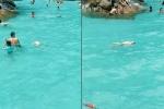 Bé trai đuối nước, nổi dập dềnh giữa bể bơi hàng trăm người nhưng không ai biết