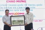 Đài Tiếng nói Việt Nam hợp tác với Đài Phát thanh Quốc tế Trung Quốc