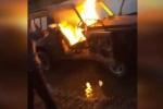 Con nhà giàu đốt xe sang, ném đồng hồ Rolex xuống bồn cầu 'gây sốc' trên mạng xã hội