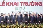 Khai giảng đặc biệt ở Đại học Việt Nhật