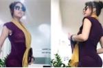 Phi Thanh Vân mặc váy ngắn mỏng tang, khoe 3 vòng sau dao kéo