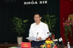 Bộ Chính trị kiểm tra công tác cán bộ tại Bình Định