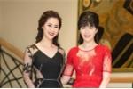 Hoa hậu Thu Thủy, Dương Thùy Linh cùng diện váy xuyên thấu khoe đường cong