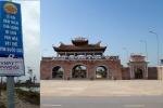 Thái Bình khẳng định không có biển quảng cáo đền Trần 'phi quốc gia'