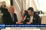 Ông Trump tặng séc 10.000 USD cho fan tham dự tiệc khiêu vũ