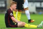 Manchester City mất Kevin De Bruyne trước chuỗi trận khó khăn