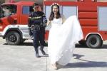 Ảnh cưới của chiến sỹ Cảnh sát phòng cháy gây sốt dân mạng