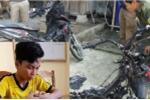 Nam thanh niên châm lửa đốt xe máy tình địch để 'bảo vệ' gái làng
