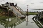 Đâm sập cầu Cơn Độ, tàu không phép bị phạt 14 triệu đồng