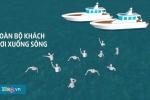 Clip 3D mô phỏng vụ chìm tàu trên sông Hàn