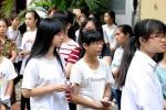 Nữ sinh xinh xắn thi đánh giá năng lực đợt 2 vào Đại học Quốc gia Hà Nội