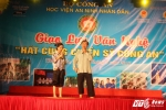 """Hinh anh Nghe sy Quang Teo """"doi mua"""" dien kich tai 'Hat cung chien sy canh sat' 31"""
