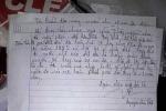 Thầy giáo treo cổ tự tử bên bức thư tuyệt mệnh