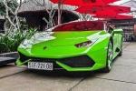 Lamborghini Huracan 13 tỷ về Quảng Bình ăn Tết