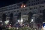 Cháy tòa nhà 7 tầng trên phố đi bộ Nguyễn Huệ
