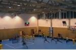 Sập trần nhà thi đấu, 80 người thoát chết trong gang tấc