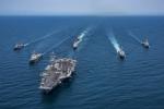 Nhóm chiến hạm Mỹ rời bán đảo Triều Tiên