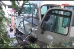 Cố vượt đèn vàng, ôtô du lịch gây tai nạn liên hoàn, tông chết 2 trẻ nhỏ