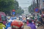Ảnh: Giao thông Thủ đô hỗn loạn sau mưa lớn