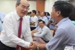Toàn cảnh trao quyết định ông Nguyễn Thiện Nhân làm Bí thư TP.HCM
