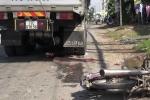 Nữ sinh viên Đồng Tháp bị xe tải cán nát 2 chân
