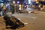 4 xe máy tông liên hoàn, 6 người thương vong