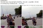 Bé trai nghi bị bắt cóc ở Quảng Bình: Xuất hiện bức ảnh bé trai gào khóc trên xe máy ở Hà Nội