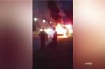 Galaxy Note 7 lại nổ khi đang sạc khiến ôtô cháy ngùn ngụt trên cao tốc