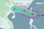 Bão cấp 10 hướng vào Biển Đông, miền Bắc sắp mưa lớn