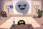 Google Doodle đổi flash game phù thuỷ nhân ngày lễ ma quỷ Halloween