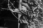 former-us-president-franklin-d-roosevelt-with-a-bow-and-arrow-circa-1890