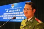 'Thủ lĩnh Đoàn' Cao đẳng Cảnh sát I điển trai, đa tài khiến bao người ngưỡng mộ