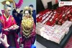 Những đám cưới ngập vàng, siêu xe và vung tiền cho khách của đại gia Trung Quốc