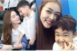 Những hình ảnh cực đáng yêu gây 'sốt' của nhóc tì nhà Hà Hồ, Khánh Thi