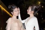 Tú Anh và Ngọc Hân tíu tít nói chuyện, thân thiết như chị em tại sự kiện
