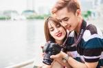 Vợ chồng son Tú Vi – Văn Anh khoe ảnh tình tứ khi đi du lịch