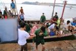 Chìm tàu chở 36 người trên biển Quảng Trị, một người chết
