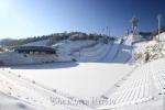 Sân đấu đẹp như thiên đường của đội Xuân Trường vùi trong tuyết