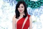 Hoa hậu Giáng My khiến khán giả 'thấp thỏm' với đồ nửa kín nửa hở