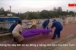 Đang câu cá phát hiện xác người trôi sông Sài Gòn
