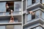 2 thiếu nữ nhảy lầu trốn khỏi 'động quỷ'
