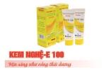 Kém chất lượng, kem dưỡng da Kem nghệ E100 của công ty Tân Hà Lan bị thu hồi