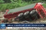 Clip: Nhà cửa, ô tô bị lũ cuốn ngổn ngang ở Sơn La